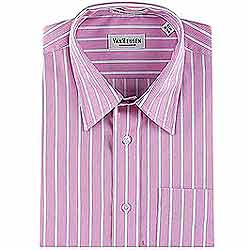 Full Striped Shirt in Pink from Arrow