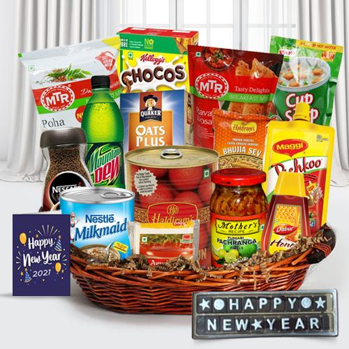 Mouth Watering New Year Gift Hamper