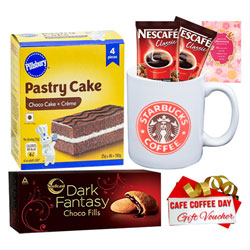 Nescafe Morning Hamper with Gift Voucher