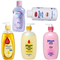 Johnson and Johnson-Baby Shampoo 475 ml, Baby Oil - 500 ml, Baby Top-to-Toe Wash 500 ml, Baby Powder - 700 gms, BABY LOTION 500ml