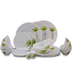 Dining at Best with La Opala Melody 20 Pieces Dinner Set