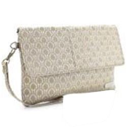 Dazzling Ladies Handbag from Murcia in Off White Colour