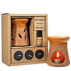 Impressive IRIS Fragrance Vapourizer with Tealight Candles