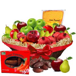 Precious Dress To Impress Fruit Gift Hamper