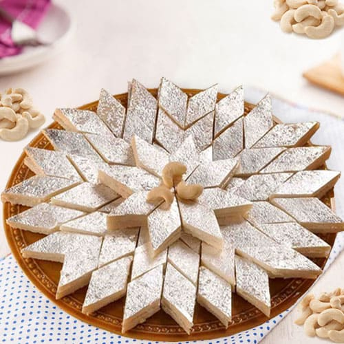 Lip-smacking Kaju Katli from Haldiram