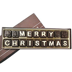 Remarkable Merry Christmas SMS Chocolate with Superior Taste