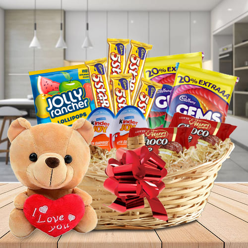 Tempting Chocolate Hamper for Kids