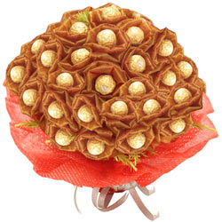 Delectable Ferrero Rocher Chocolate Bouquet