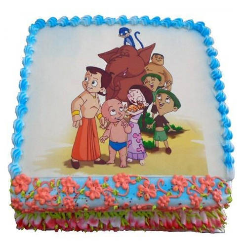 Marvelous Chota Bheem Chocolate Cake