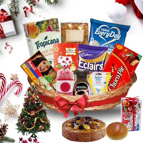 Sizzling Christmas Treasure Basket<br>