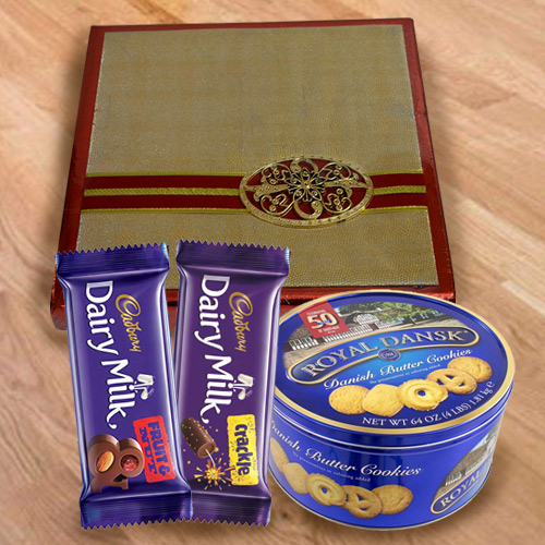 Classic Assorted Dry Fruits with Cookies N Chocolates
