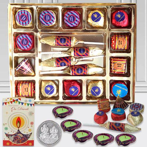 Marvelous Gift Pack of Homemade Cracker Chocolates with Lots