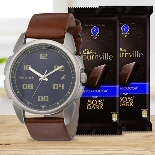 Fastrack Watch n 2 pcs Cadbury Bournville