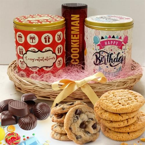 Yummy Cookies, Jellies N Chocos Trio
