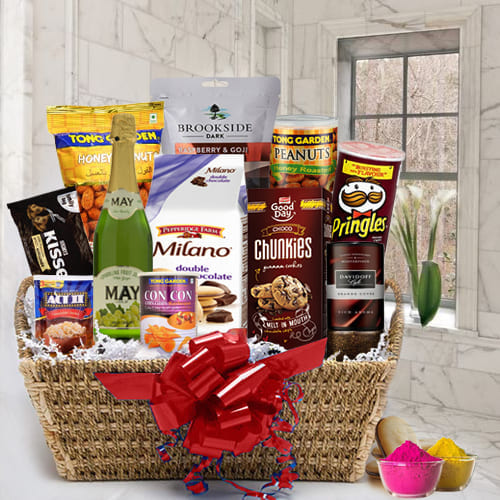 Festival of Colors Food Assortments Gift Hamper