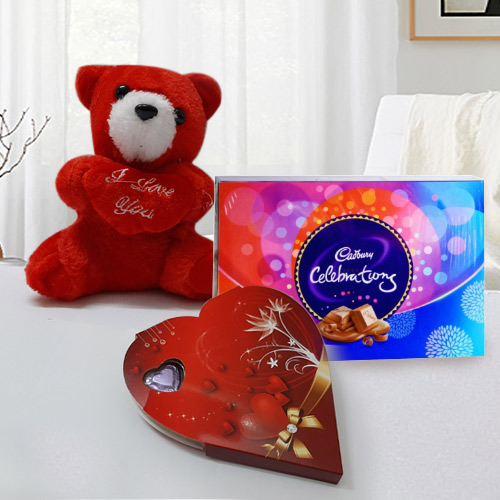 Chocos   Teddy Romantic Hamper
