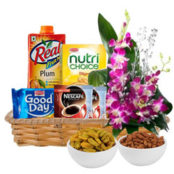 Remarkbable Gift Basket of Healthy Gourmets