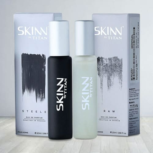 Exclusive Titan Skinn Raw Fragrances for Men