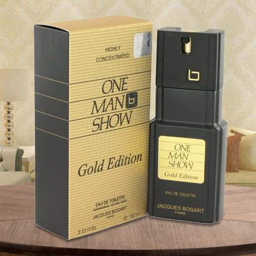 Remarkable One Man Show Gold Jacques Bogart EDT Spray