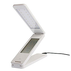 Awesome LED Folding Lamp with Alarm Clock and Calendar
