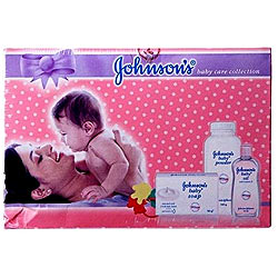 Johnson and Johnson-Johnsons Baby Care Collection Mini (Pack of 3)