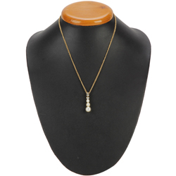 Charismatic Flair Pearl Neckwear from Avon