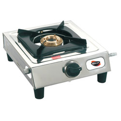 Smart Looking Single Burner Nirlep Aspa Gas Top with 1 Year Warranty