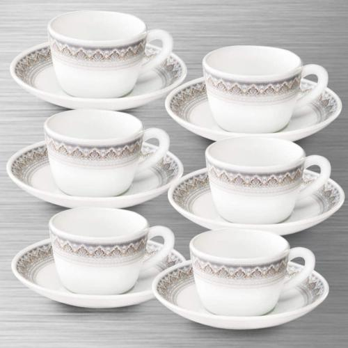 Wonderful Larah by Borosil Classic Cup and Saucer Set