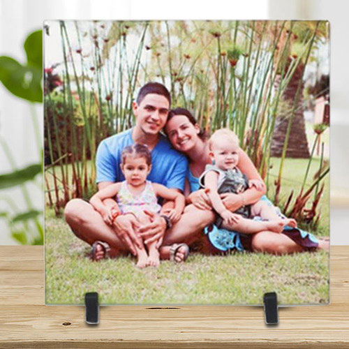 Wonderful Personalized Photo Tile (Square)