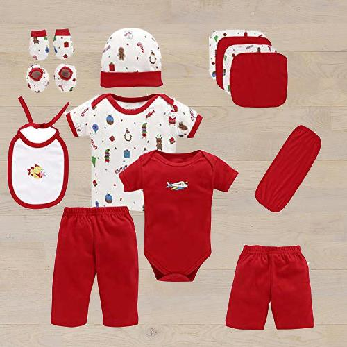 Outstanding Gift Set of Cotton Clothes for Babies