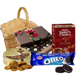 Exclusive Party Special Chocolate Hamper Basket