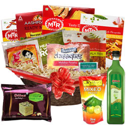 Exquisite North Indian Dinner Gift Basket