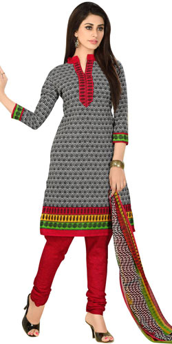 Gorgeous Printed Salwar Suit of Welcome Brand Collection