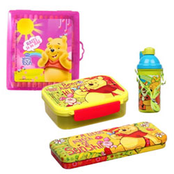 Classy Collection of Winni the Pooh Gift Hamper for Babies