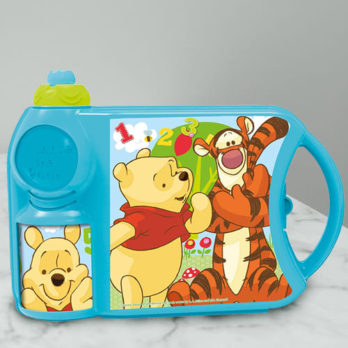 Exclusive Disney Winnie the Pooh Canteen Set of Tiffin Box n Bottle