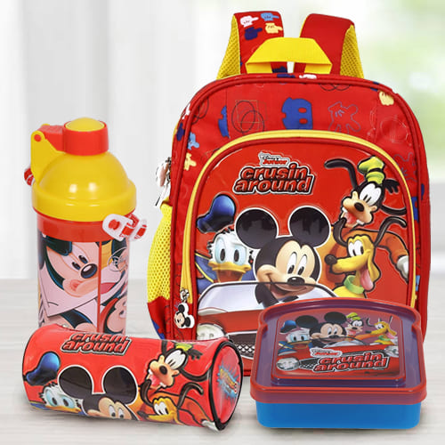 Exciting Mickey Mouse School Utility Gift Combo for Kids