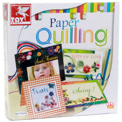 Fascinating ToyKraft Paper Quilling Cards