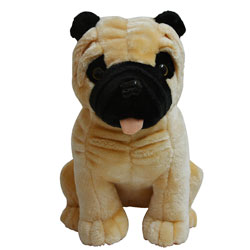 Little Pug Soft Toy