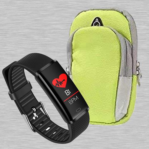 Exclusive PTron Fitness Band N Running Armband