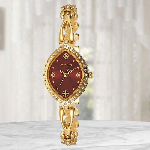 Exclusive Sonata Analog Womens Watch